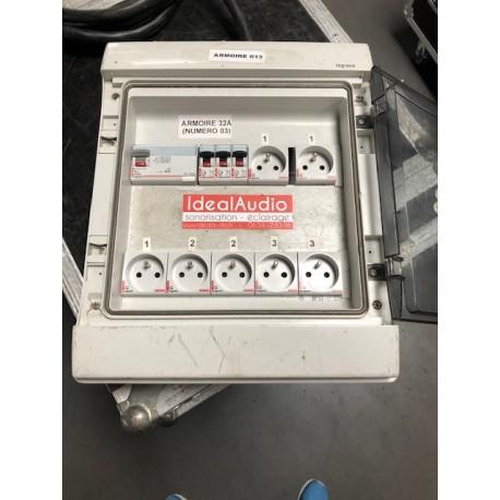 Armoire électrique 32A Tétra - Occasion