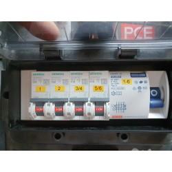 Armoire électrique PCE 32A Tetra - Occasion